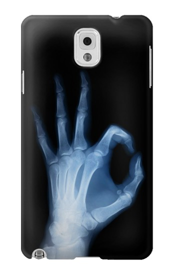 Printed X-Ray Hand Sign OK Samsung Note 3 Case