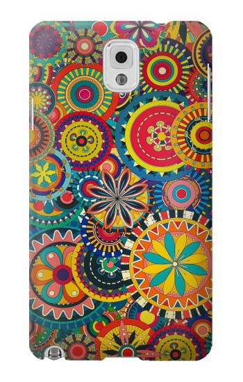 Printed Colorful Pattern Samsung Note 3 Case