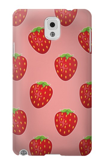 Printed Strawberry Fruit Pattern Samsung Note 3 Case