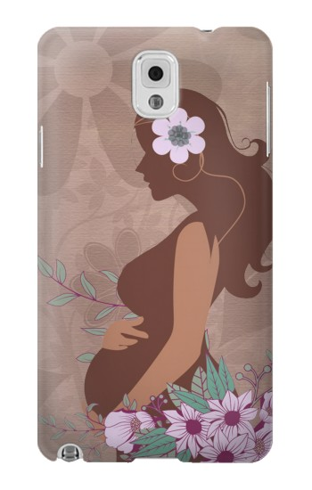 Printed Pregnant Mommy Baby Samsung Note 3 Case