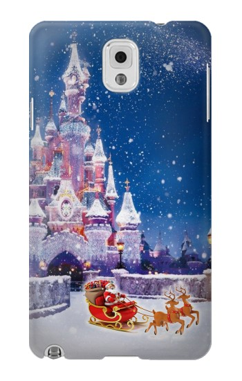 Printed Santa Xmas Castle Samsung Note 3 Case