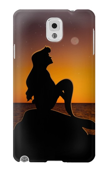 Printed Mermaid Sunset Samsung Note 3 Case