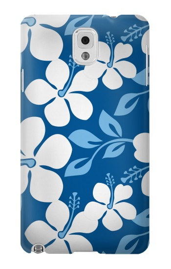 Printed Hawaii Blue Pattern Samsung Note 3 Case