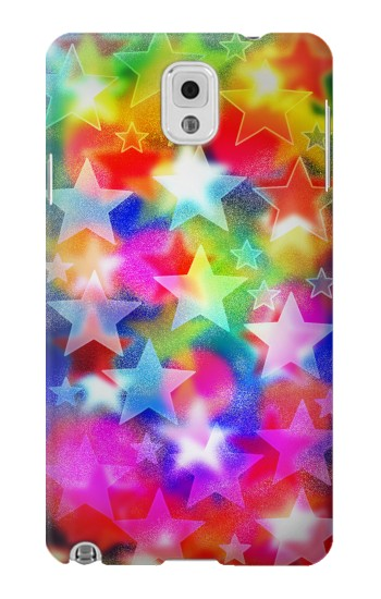 Printed Colourful Disco Star Samsung Note 3 Case