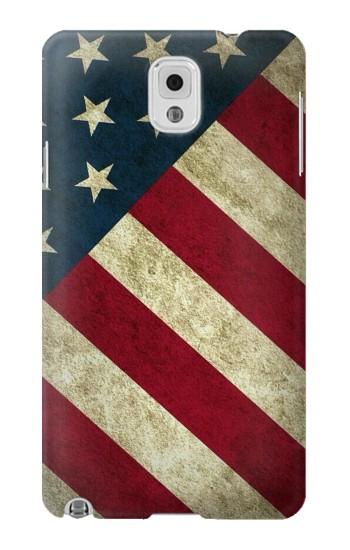 Printed US National Flag Samsung Note 3 Case