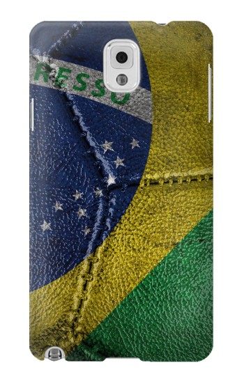 Printed Brazil Flag Vintage Football 2018 Samsung Note 3 Case
