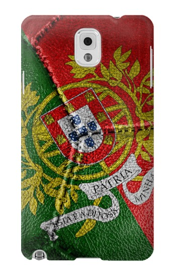 Printed Portugal Flag Vintage Football 2018 Samsung Note 3 Case