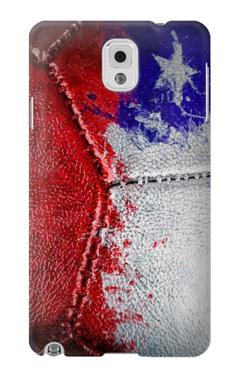 Printed Chile Flag Vintage Football 2018 Samsung Note 3 Case