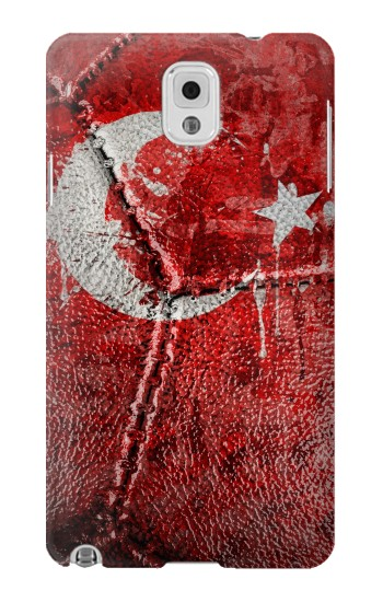 Printed Turkey Flag Vintage Football 2018 Samsung Note 3 Case