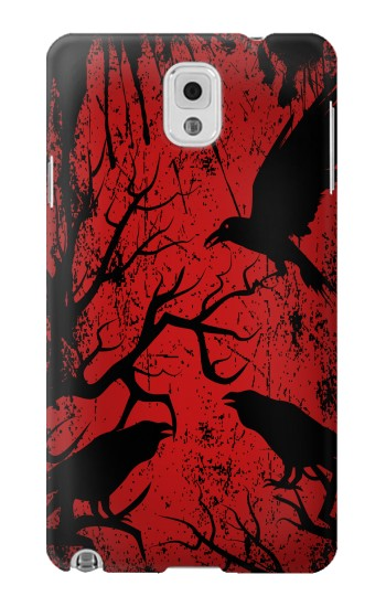 Printed Crow Black Tree Samsung Note 3 Case