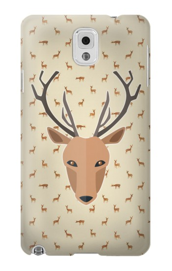 Printed Deer Pattern Samsung Note 3 Case