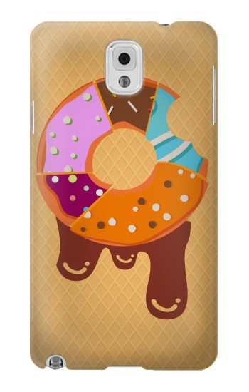 Printed Yummy Donut Samsung Note 3 Case