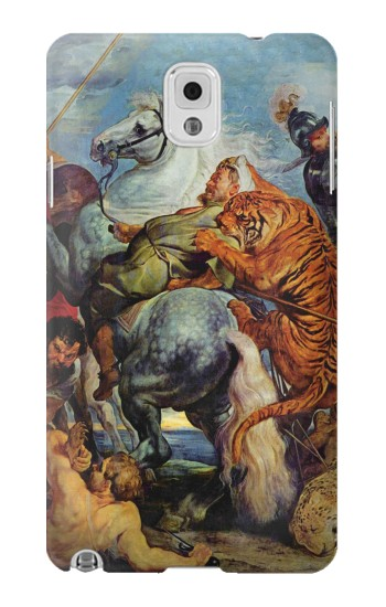 Printed Peter Paul Rubens Tiger und Lowenjagd Samsung Note 3 Case