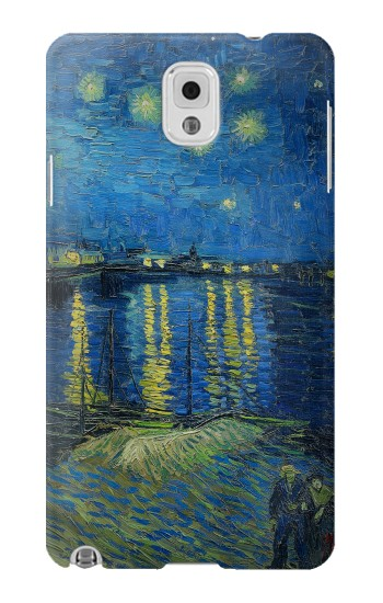 Printed Van Gogh Starry Night Over Rhone Samsung Note 3 Case