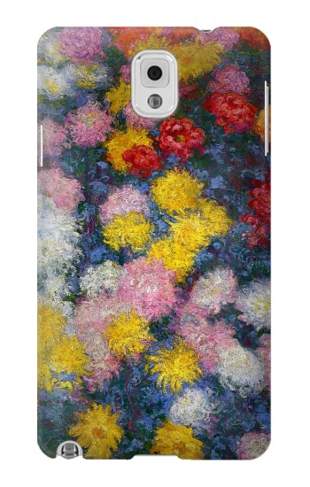 Printed Claude Monet Chrysanthemums Samsung Note 3 Case