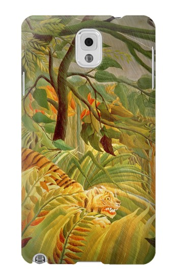 Printed Henri Rousseau Tiger in a Tropical Storm Samsung Note 3 Case