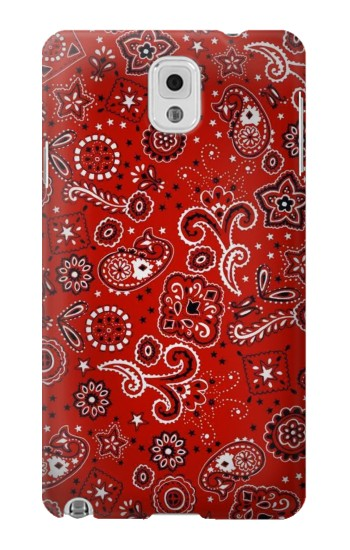 Printed Red Bandana Samsung Note 3 Case