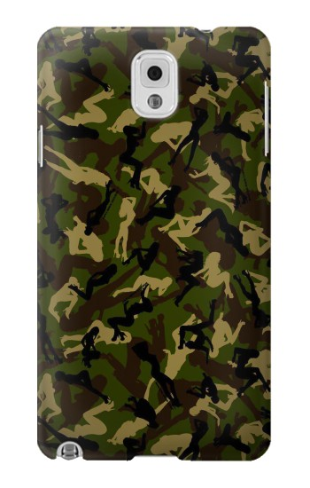 Printed Sexy Girls Camo Samsung Note 3 Case