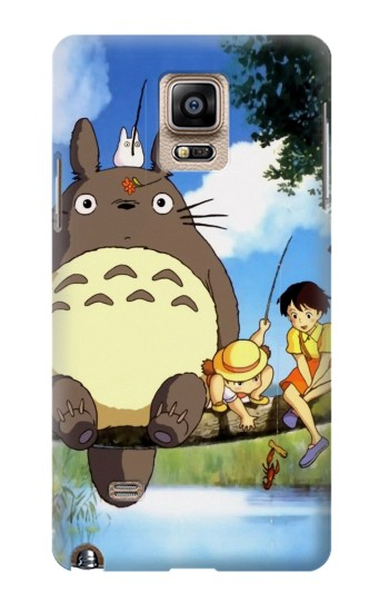 Printed Totoro and Friends Samsung Note 4 Case