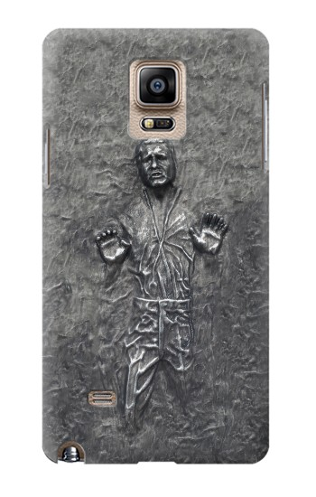 Printed Han Solo in Carbonite Samsung Note 4 Case