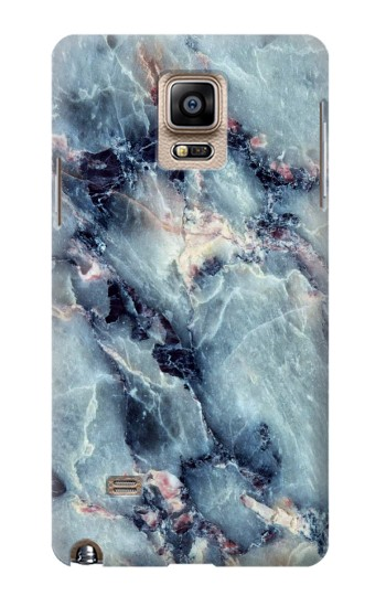 Printed Blue Marble Texture Samsung Note 4 Case