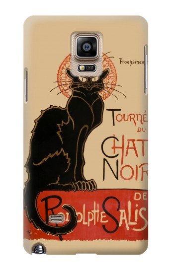 Printed Chat Noir The Black Cat Samsung Note 4 Case
