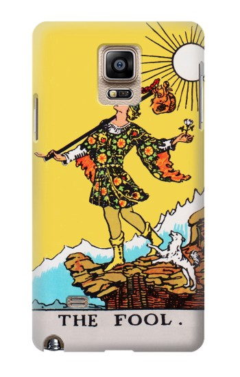 Printed Tarot Card The Fool Samsung Note 4 Case