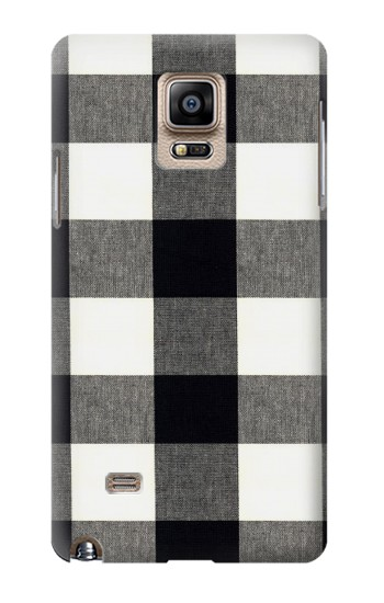 Printed Black and White Buffalo Check Pattern Samsung Note 4 Case