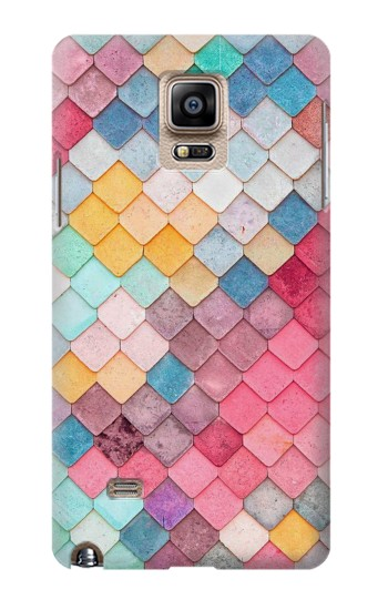 Printed Candy Minimal Pastel Colors Samsung Note 4 Case