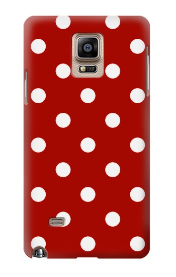 Printed Red Polka Dots Samsung Note 4 Case
