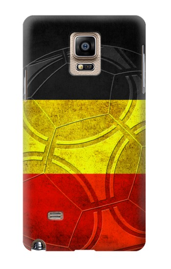 Printed Belgium Football Flag Samsung Note 4 Case