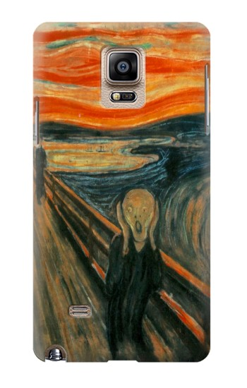 Printed Edvard Munch Scream Original Painting Samsung Note 4 Case