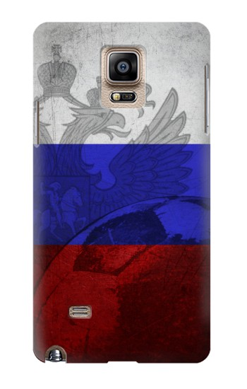 Printed Russia Football Flag Samsung Note 4 Case