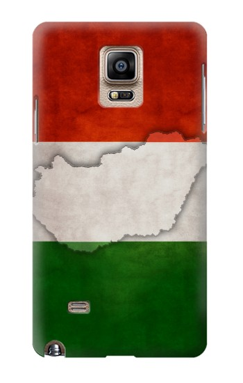 Printed Hungary Flag Samsung Note 4 Case