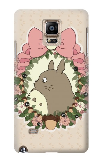 Printed My Neighbor Totoro Wreath Samsung Note 4 Case