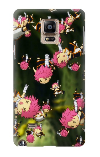 Printed Fairy Tail Little Natsu Fall Samsung Note 4 Case
