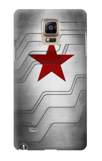 Printed Winter Soldier Bucky Arm Texture Samsung Note 4 Case