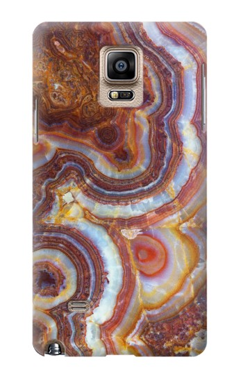 Printed Colored Marble Texture Printed Samsung Note 4 Case