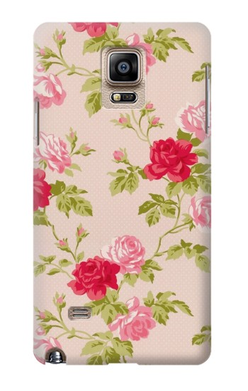 Printed Pretty Rose Cottage Flora Samsung Note 4 Case
