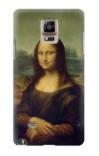 Printed Mona Lisa Da Vinci Painting Samsung Note 4 Case