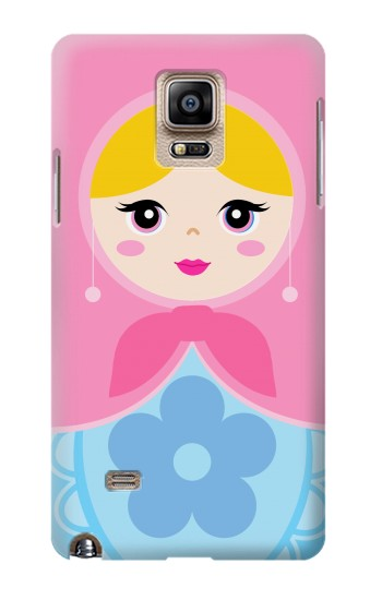 Printed Matryoshka Russia Doll Samsung Note 4 Case