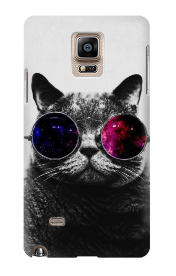Printed Cool Cat Glasses Samsung Note 4 Case