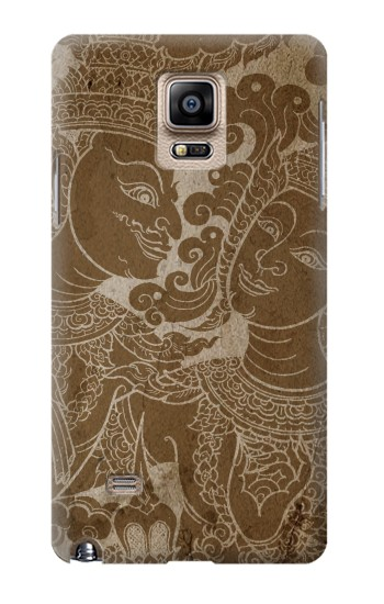Printed Thai Traditional Art Samsung Note 4 Case