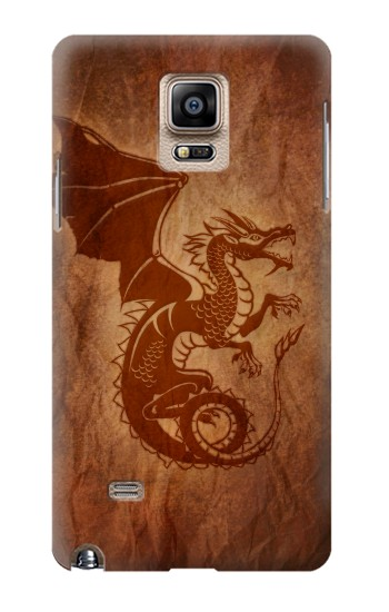 Printed Red Dragon Tattoo Samsung Note 4 Case