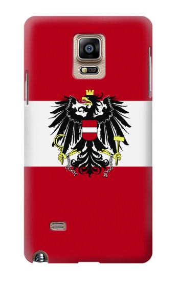 Printed Variant flag of Austria Samsung Note 4 Case
