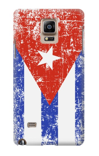 Printed Cuba Flag Samsung Note 4 Case