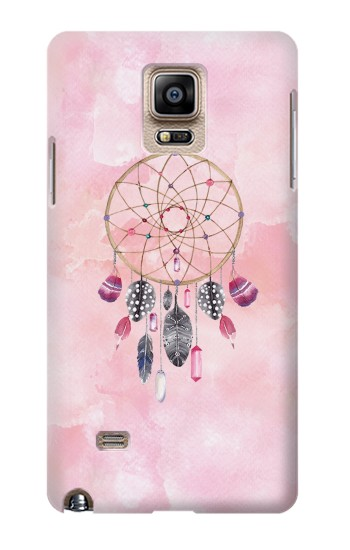 Printed Dreamcatcher Watercolor Painting Samsung Note 4 Case