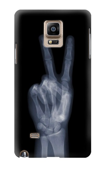 Printed X-ray Peace Finger Samsung Note 4 Case