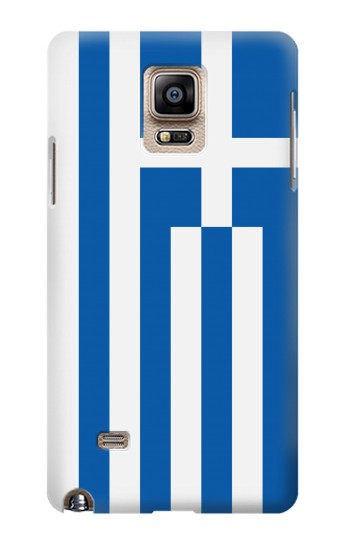 Printed Flag of Greece Samsung Note 4 Case