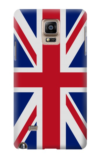 Printed Flag of The United Kingdom Samsung Note 4 Case